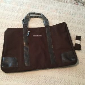 Kenneth Cole signature huge duffle weekender bag